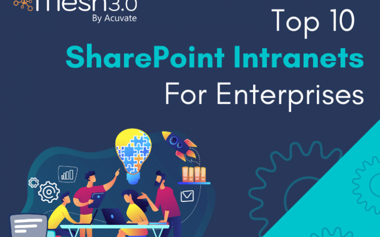 Top 10 Sharepoint Intranets For Enterprises