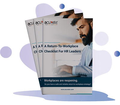 Ebook & Guide Return To Workplace Checklist