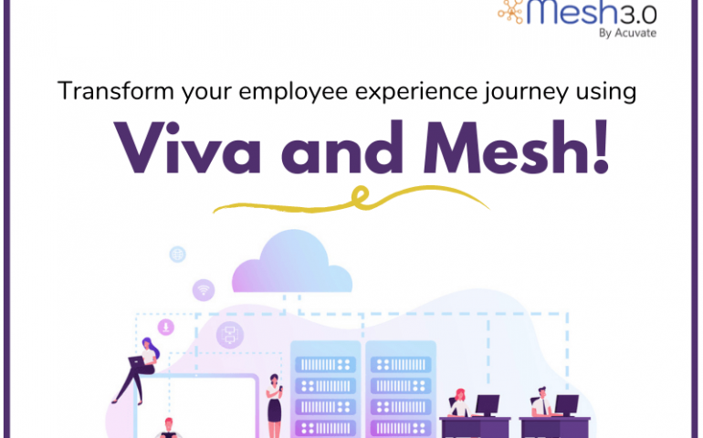 Transform Your Employee Experience Journey Using Viva And Mesh!