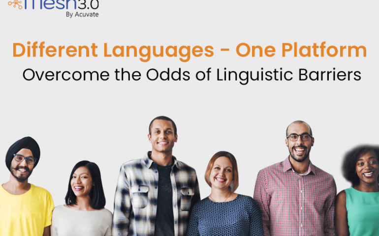 Different Languages One Platform Overcome The Odds Of Linguistic Barriers